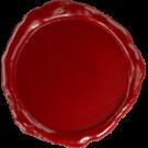 Siegel aus Wachs in Rot